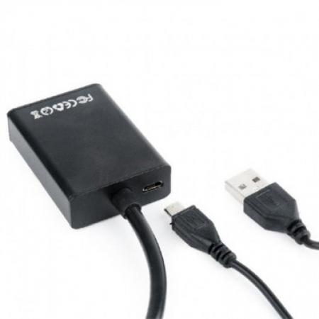 Gembird adapter kabl VGA to HDMI-01