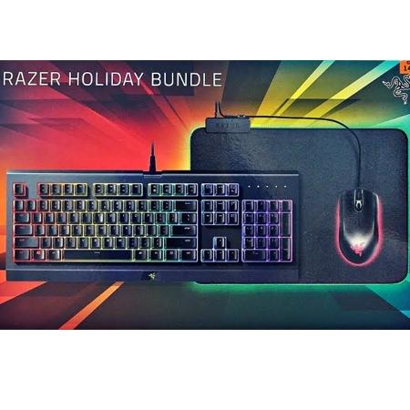 Razer Bundle Tastatura Cynosa Chroma + Abyssus Mis Essential + Podloga Goliatus Chroma