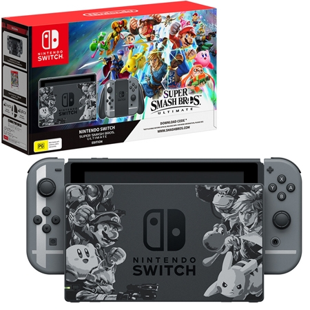 Konzola Nintendo Switch Super Smash Bros Ultimate Edition