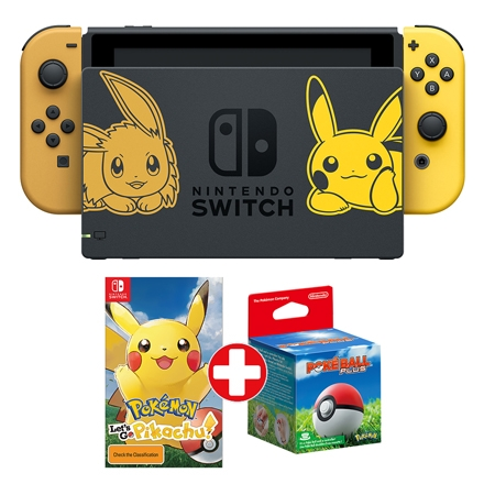 Konzola Nintendo Switch Pokemon Lets go Pikachu + Pokeball