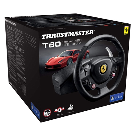 Thrustmaster - Volan T80 Ferrari 488 GTB Edition PC/PS4