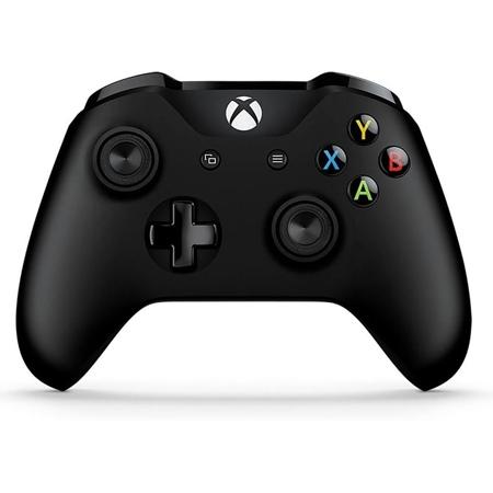 Microsoft Wireless Gamepad Black + Cable for Windows /XONE S