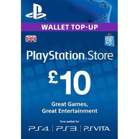 PSN UK dopuna kredita 10 GBP /Digital Code