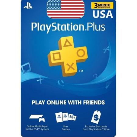 PSN Plus USA pretplata 3 mjeseca /Digital Code