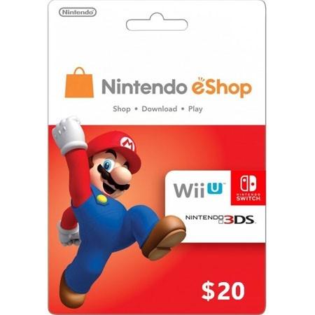 Nintendo USA dopuna kredita 20 USD /Digital Code