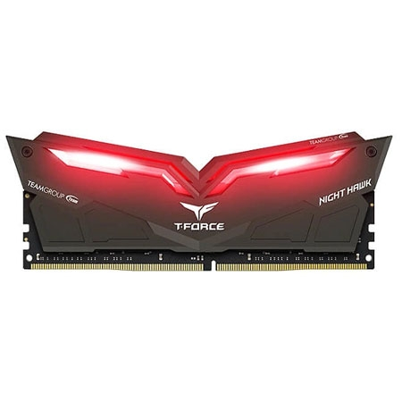 Team T-Force Night Hawk Led Red DDR4-3000 16GB (2x8GB)