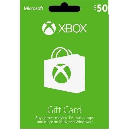 XBOX Live dopuna kredita 50 USD /Digital Code