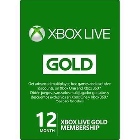 XBOX Live Gold pretplata 12 mjeseca /Digital Code