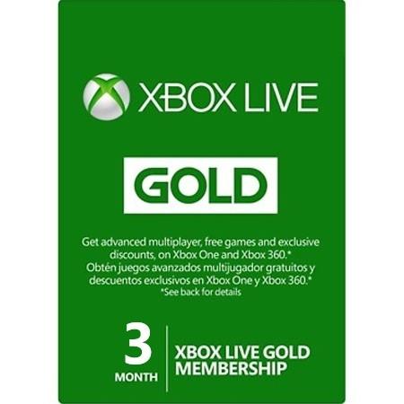 XBOX Live Gold pretplata 3 mjeseca /Digital Code
