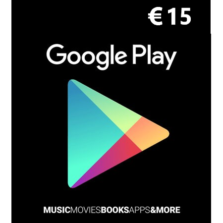 Google Play dopuna kredita 15 EUR /Digital Code