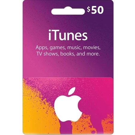 iTunes dopuna kredita 50 USD /Digital Code