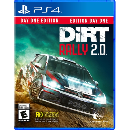 DIRT Rally 2.0 Day One Edition Preorder /PS4