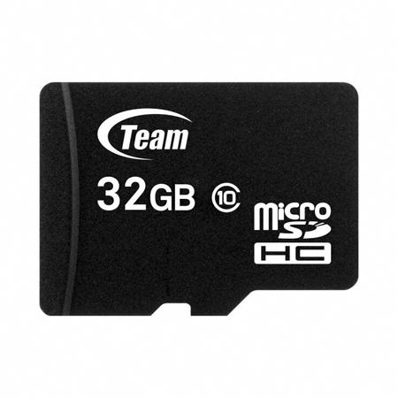 Team Micro SDHC Memory Card 32GB Class 10