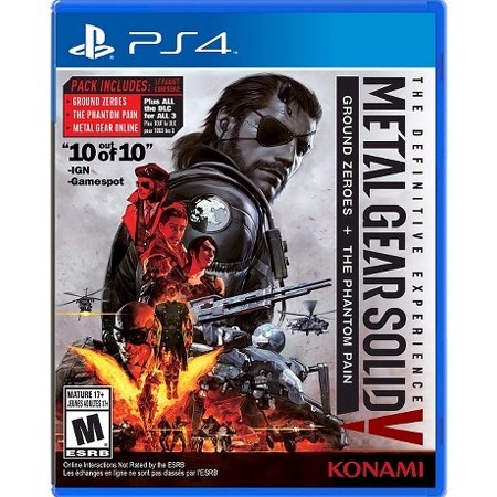 Metal Gear Solid - The Definitive Experience /PS4