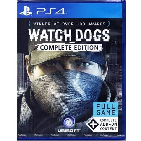 Watch Dogs Complete /PS4