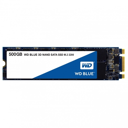 WD SSD 500GB Blue NAND M.2