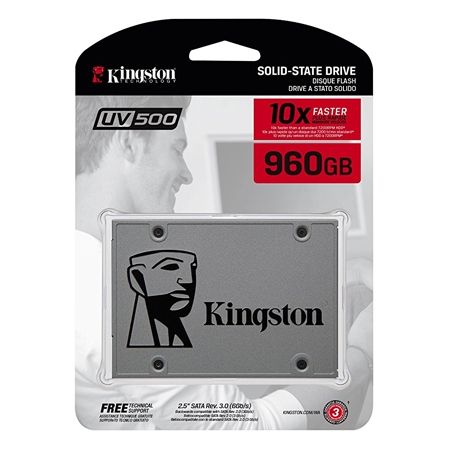 "Kingston SSD 960GB 2.5"" UV500"