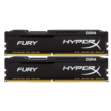 Kingston Hyperx Fury Black DDR4 3200MHz 16GB (2x8GB)
