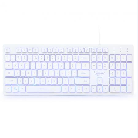 Tastatura GEMBIRD, KB-UML3, White