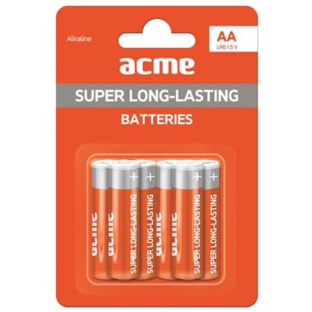 ACME Baterije AA Alkaline LR6 6KOM