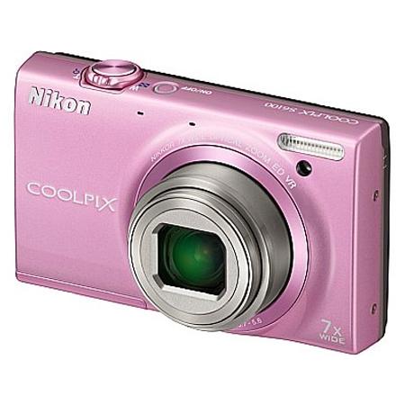 Digitalni fotoaparat Nikon Coolpix S6100 Pink