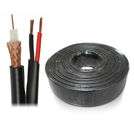 Coaxial cable RG59 2x0.75 100m
