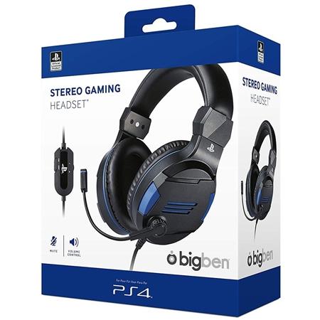 BigBen Gaming Slušalice V3 za PS4