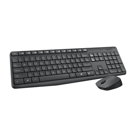 Logitech Desktop set Wireless MK235