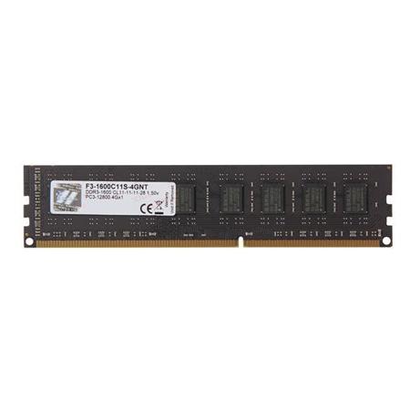 G.SKILL DDR3-1600 4GB