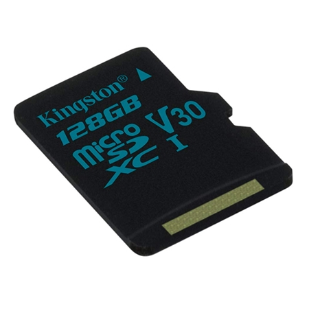 Kingston Micro SDXC Canvas GO Memory Card 128GB Class10 UHS-I U3