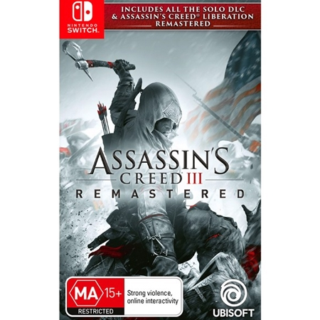 Assassins Creed 3 Remastered /Switch