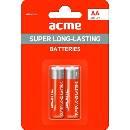 ACME Baterije AA Alkaline LR6 2KOM