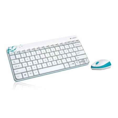 Logitech Desktop set Wireless MK245 White