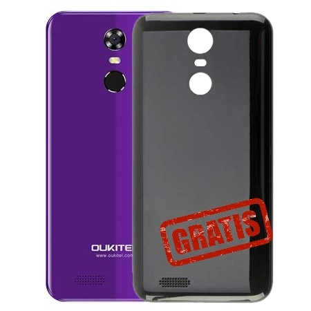 Oukitel Smartphone C8 4G Purple + Black Cover