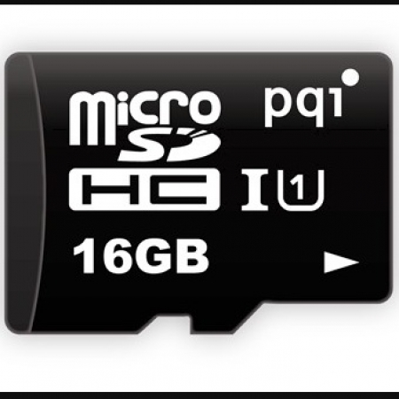 PQI Micro SDHC Memory Card 16GB U988 Class10