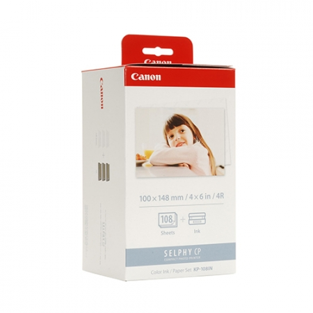 Canon Selphy photo paper KP108IN