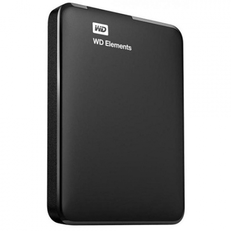 WD 750GB External HDD Elements Portable 2.5""