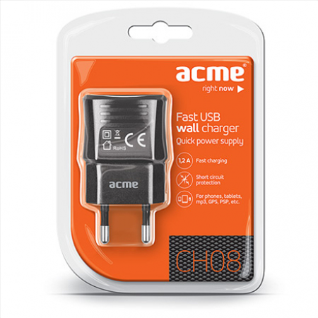 ACME CH08 Fast USB wall charger