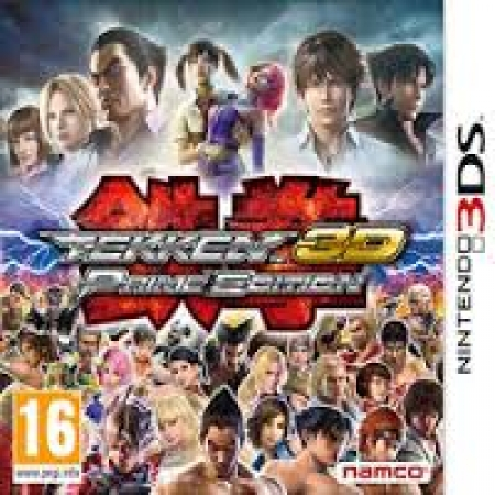 3DS Game Tekken 3D Prime Edition