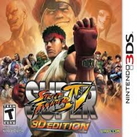 3DS Street Fighter 3D Edition