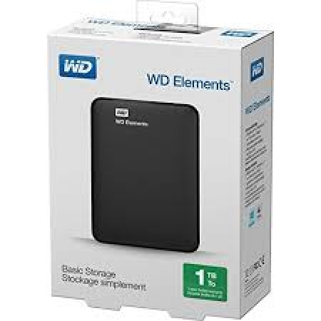 WD 1TB External HDD Elements Portable 2.5