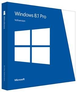 Microsoft Windows 8.1 Pro OEM 64bit