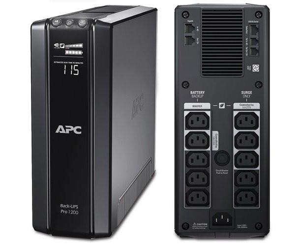 APC UPS Back BR1200GI