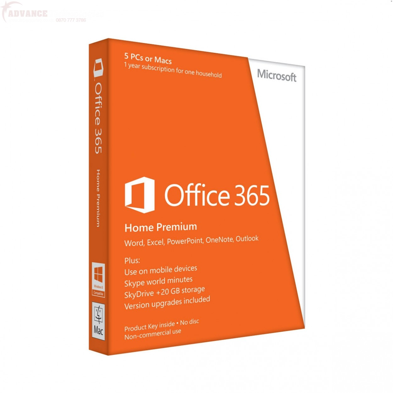 Microsoft Office 365 Home Premium English