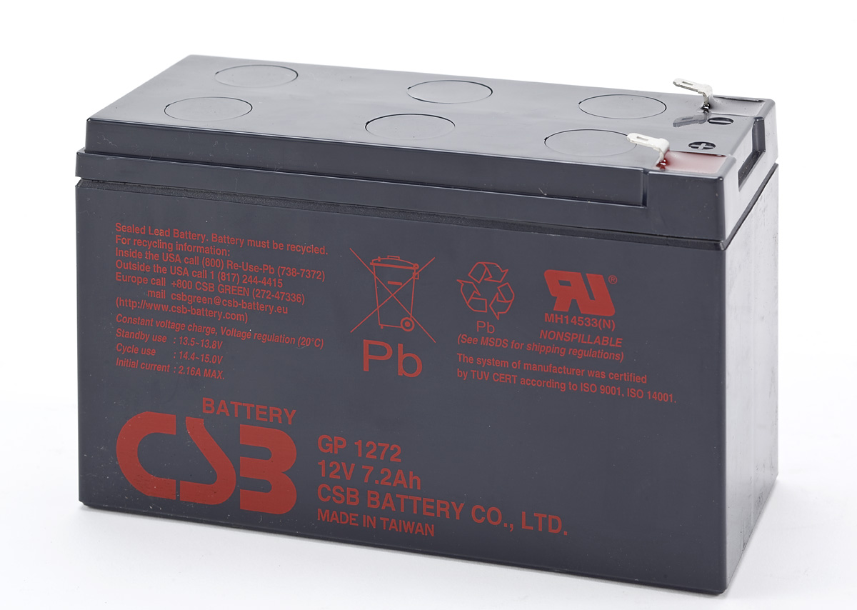 CSB UPS Battery GP1272 F2